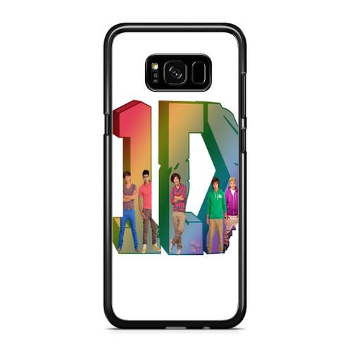 1D Logo Colourfull Samsung Galaxy S8 Plus Case