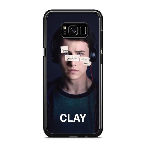 13 Reasons Why Clay Samsung Galaxy S8 Plus Case