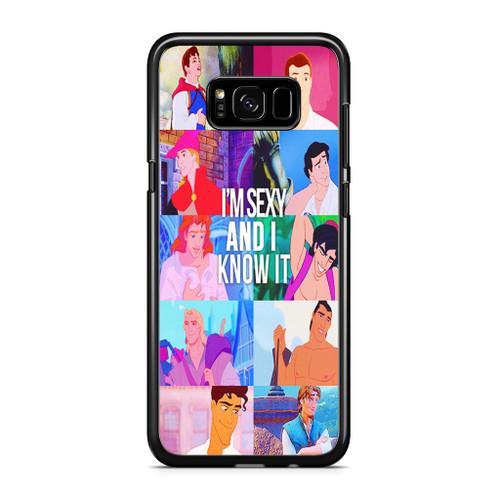 Disney Princes Men Samsung Galaxy S8 Case