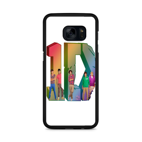 1D Logo Colourfull Samsung Galaxy S7 Edge Case