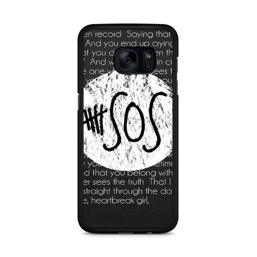 5SOS QUOTE Samsung Galaxy S7 Edge Case