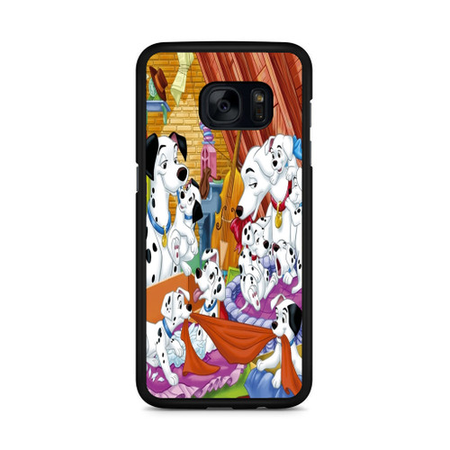 101 Dalmations Family Samsung Galaxy S7 Edge Case