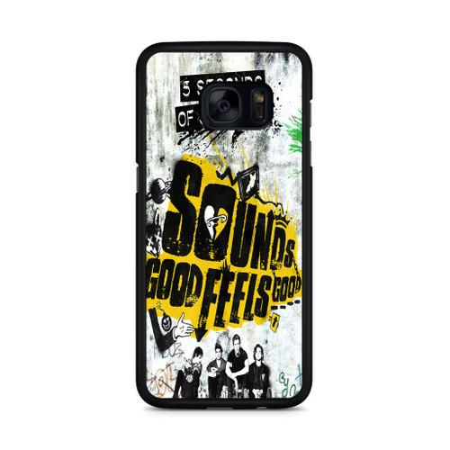 5SOS Sounds Good Feels Good Samsung Galaxy S7 Edge Case