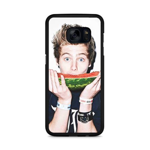 5SOS Luke Hemmings Watermelon Samsung Galaxy S7 Edge Case