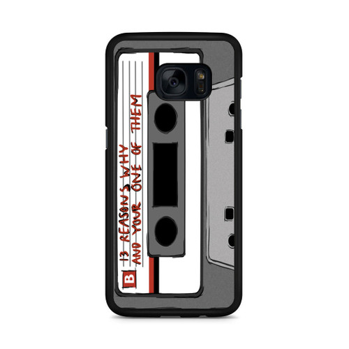 13 Reasons Why Casette Samsung Galaxy S7 Edge Case