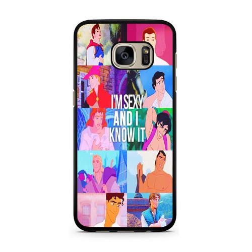 Disney Princes Men Samsung Galaxy S7 Case