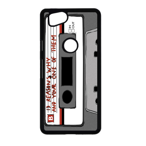 13 Reasons Why Casette Google Pixel 2 Case