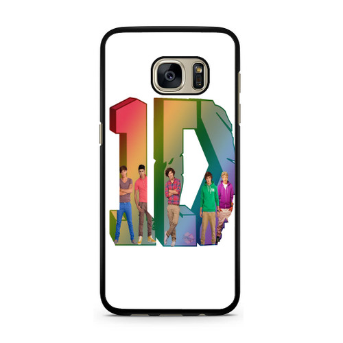 1D Logo Colourfull Samsung Galaxy S7 Case