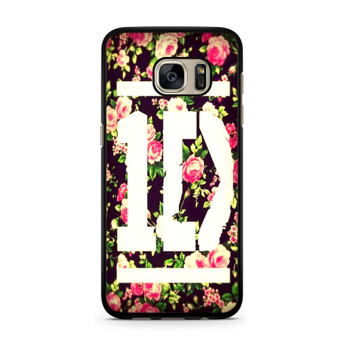 1D Logo Flower Samsung Galaxy S7 Case