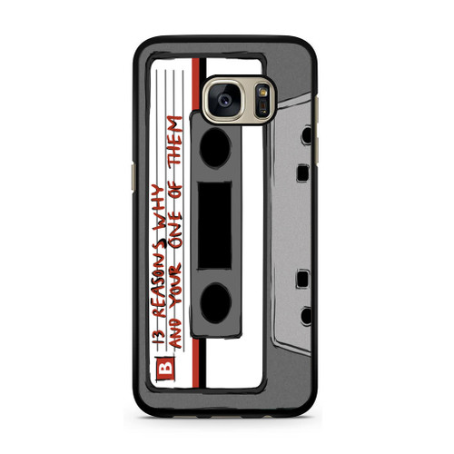 13 Reasons Why Casette Samsung Galaxy S7 Case