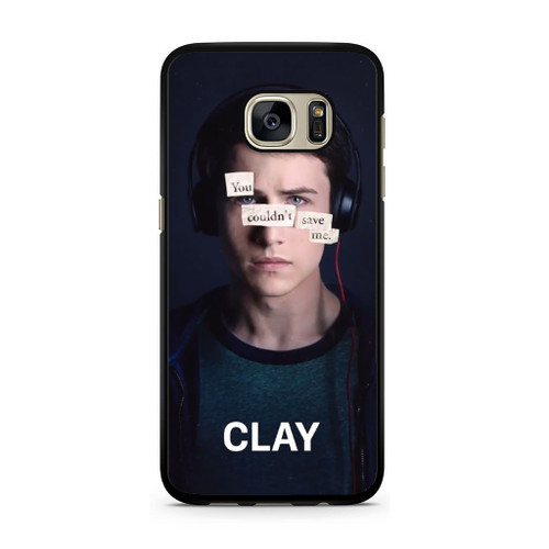 13 Reasons Why Clay Samsung Galaxy S7 Case