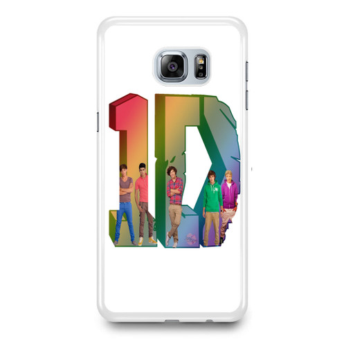 1D Logo Colourfull Samsung Galaxy S6 Edge Plus Case