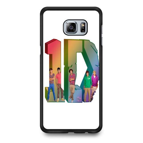 1D Logo Colourfull Samsung Galaxy S6 Edge Plus Case