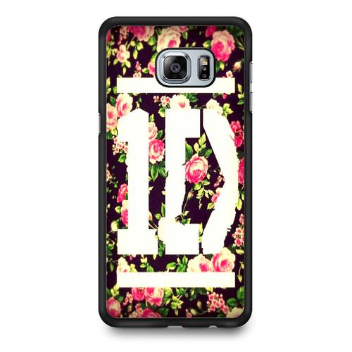 1D Logo Flower Samsung Galaxy S6 Edge Plus Case