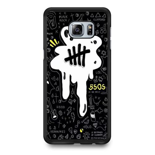 5SOS Melting Samsung Galaxy S6 Edge Plus Case
