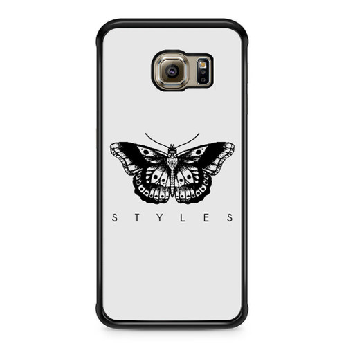1d Harry Styles Tattoos Samsung Galaxy S6 Edge Case