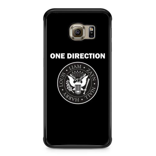 1D Liam Zayn Niall Harry Louis Samsung Galaxy S6 Edge Case