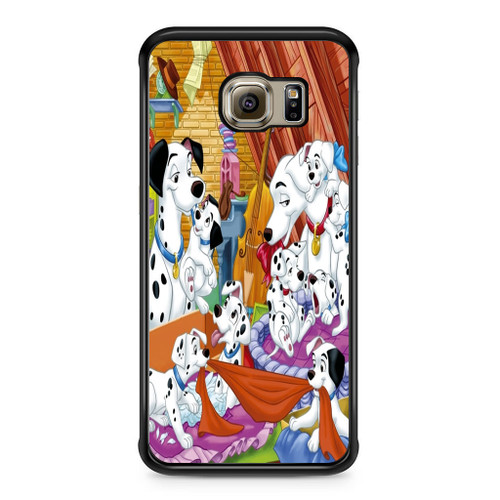 101 Dalmations Family Samsung Galaxy S6 Edge Case