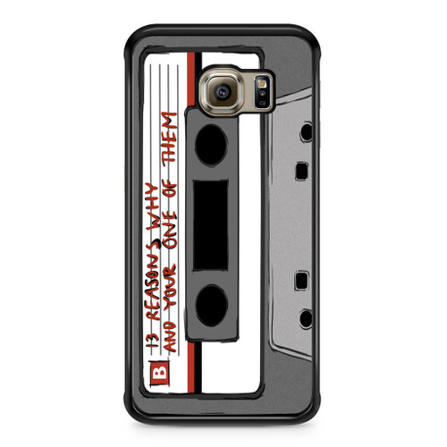 13 Reasons Why Casette Samsung Galaxy S6 Edge Case