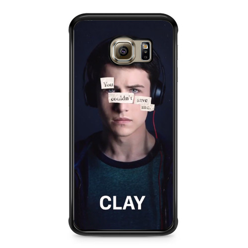 13 Reasons Why Clay Samsung Galaxy S6 Edge Case