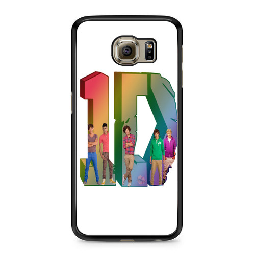 1D Logo Colourfull Samsung Galaxy S6 Case