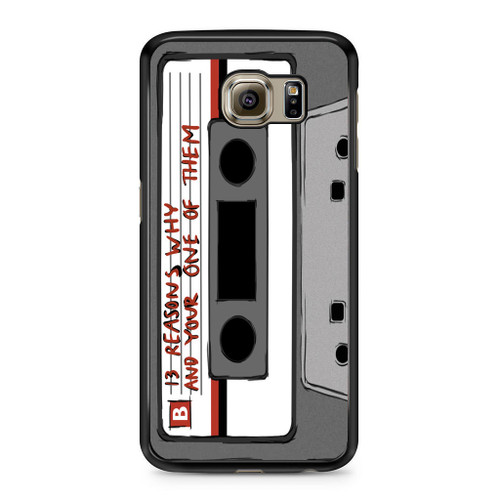 13 Reasons Why Casette Samsung Galaxy S6 Case