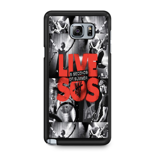5SOS Live Samsung Galaxy Note 5 Case