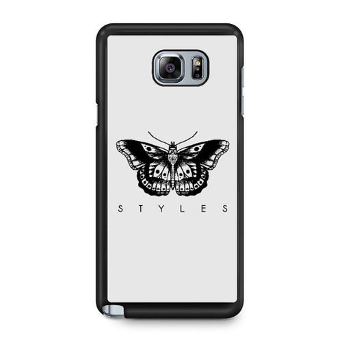 1d Harry Styles Tattoos Samsung Galaxy Note 5 Case