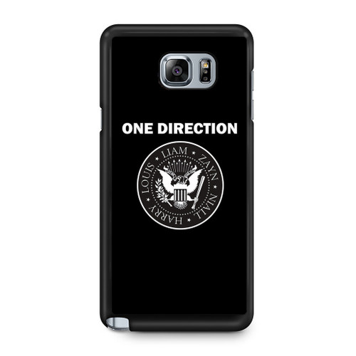 1D Liam Zayn Niall Harry Louis Samsung Galaxy Note 5 Case