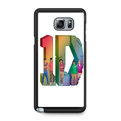 1D Logo Colourfull Samsung Galaxy Note 5 Case