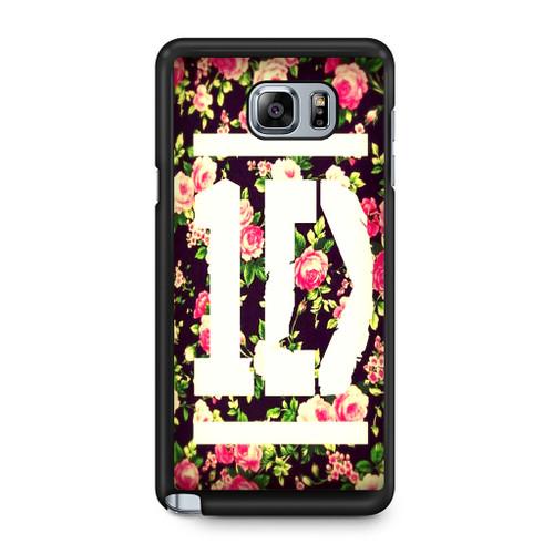 1D Logo Flower Samsung Galaxy Note 5 Case