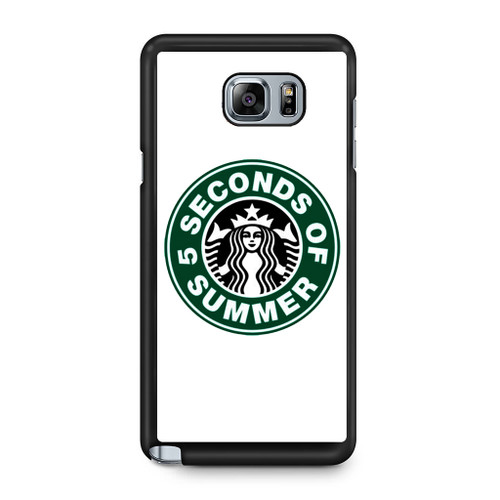 5SOS Coffe Samsung Galaxy Note 5 Case