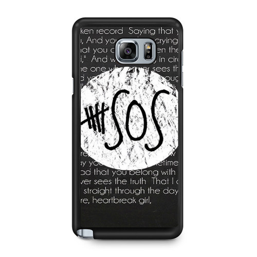5SOS QUOTE Samsung Galaxy Note 5 Case