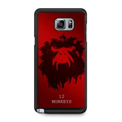 12 Monkeys Samsung Galaxy Note 5 Case