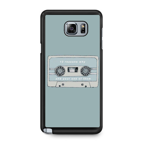13 Reasons Why And Your One Of Them Samsung Galaxy Note 5 Case