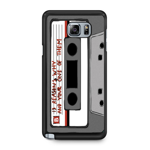 13 Reasons Why Casette Samsung Galaxy Note 5 Case