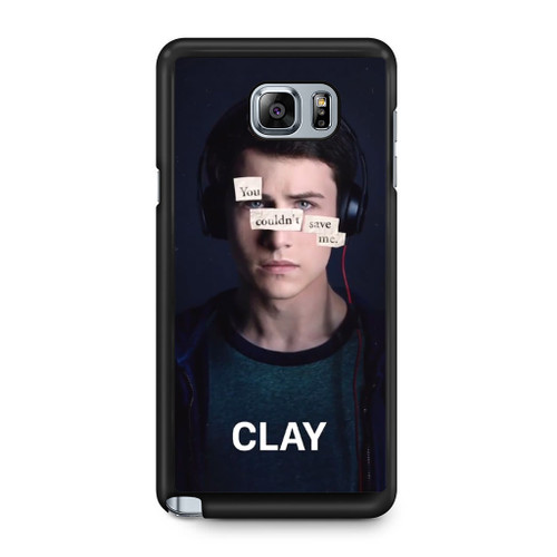 13 Reasons Why Clay Samsung Galaxy Note 5 Case