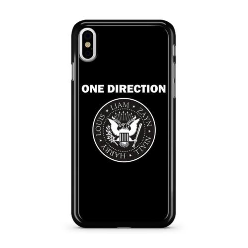 1D Liam Zayn Niall Harry Louis iPhone X Case