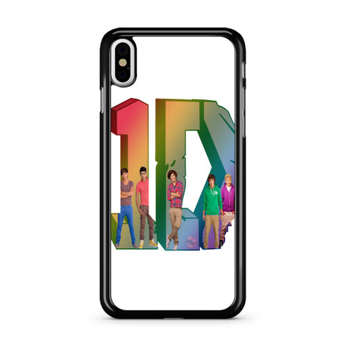1D Logo Colourfull iPhone X Case