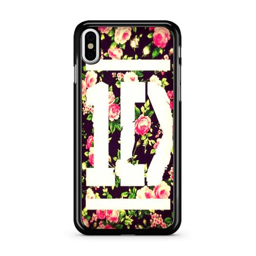 1D Logo Flower iPhone X Case
