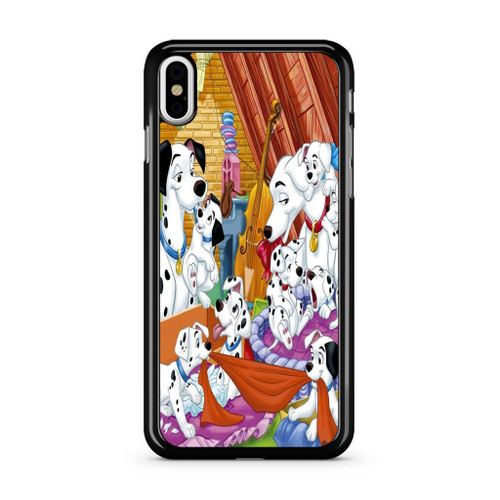 101 Dalmations Family iPhone X Case