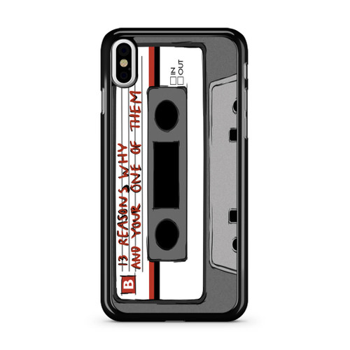 13 Reasons Why Casette iPhone X Case