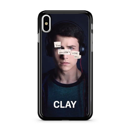 13 Reasons Why Clay iPhone X Case