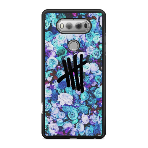 5SOS Logo Natural Flower LG V20 Case