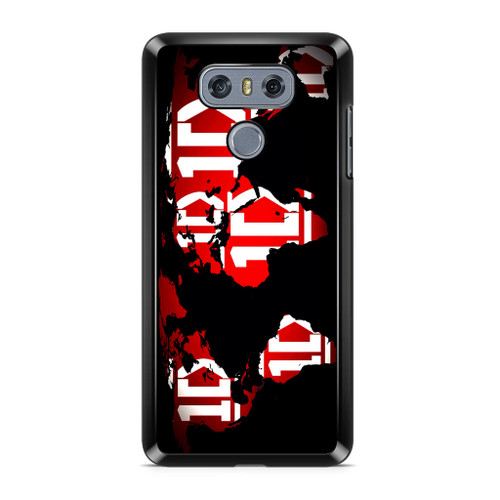 1D Map World LG G6 Case