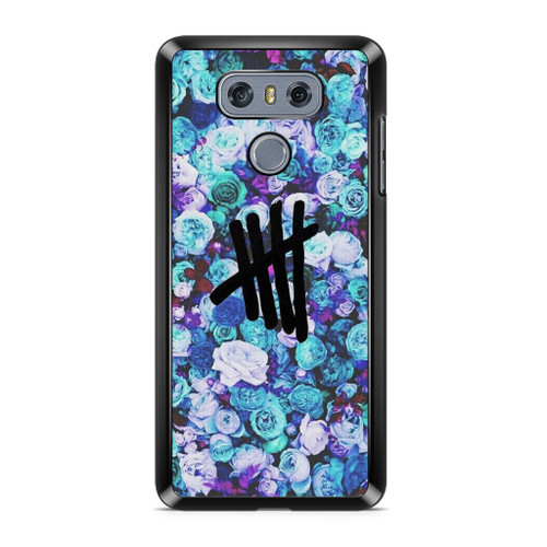 5SOS Logo Natural Flower LG G6 Case