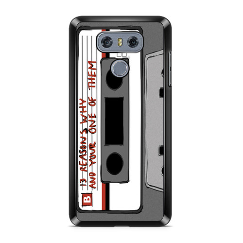 13 Reasons Why Casette LG G6 Case