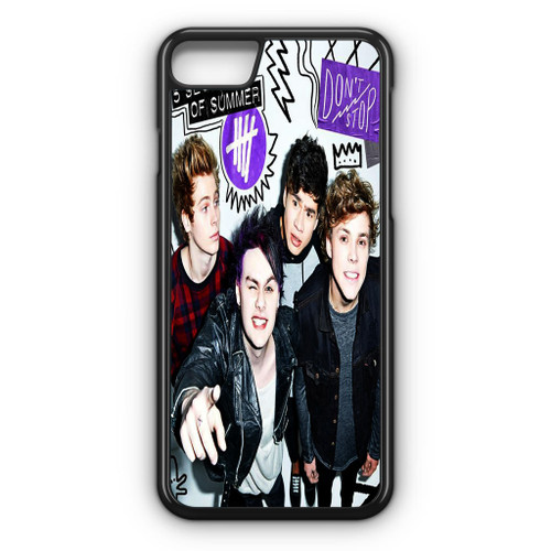 5SOS Poster Don't Stop iPhone 7 Case