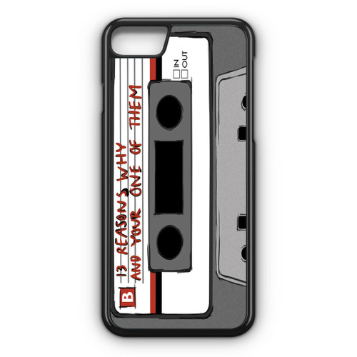 13 Reasons Why Casette iPhone 7 Case