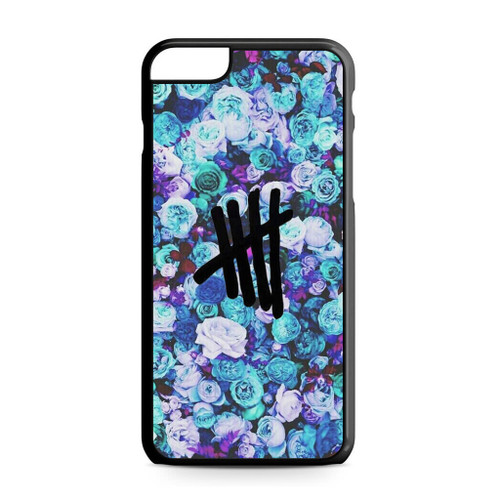 5SOS Logo Natural Flower iPhone 6 Plus/6S Plus Case